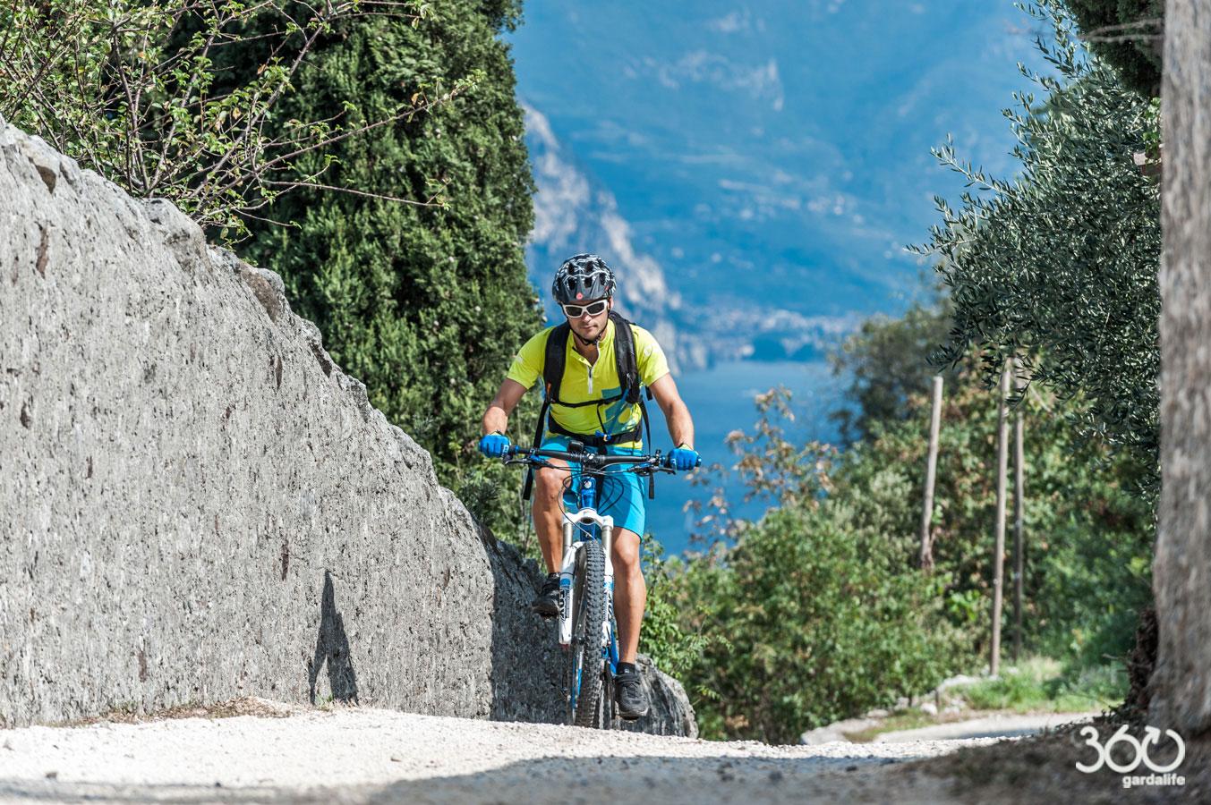 Biking In Malcesine And Monte Baldo At Lake Garda