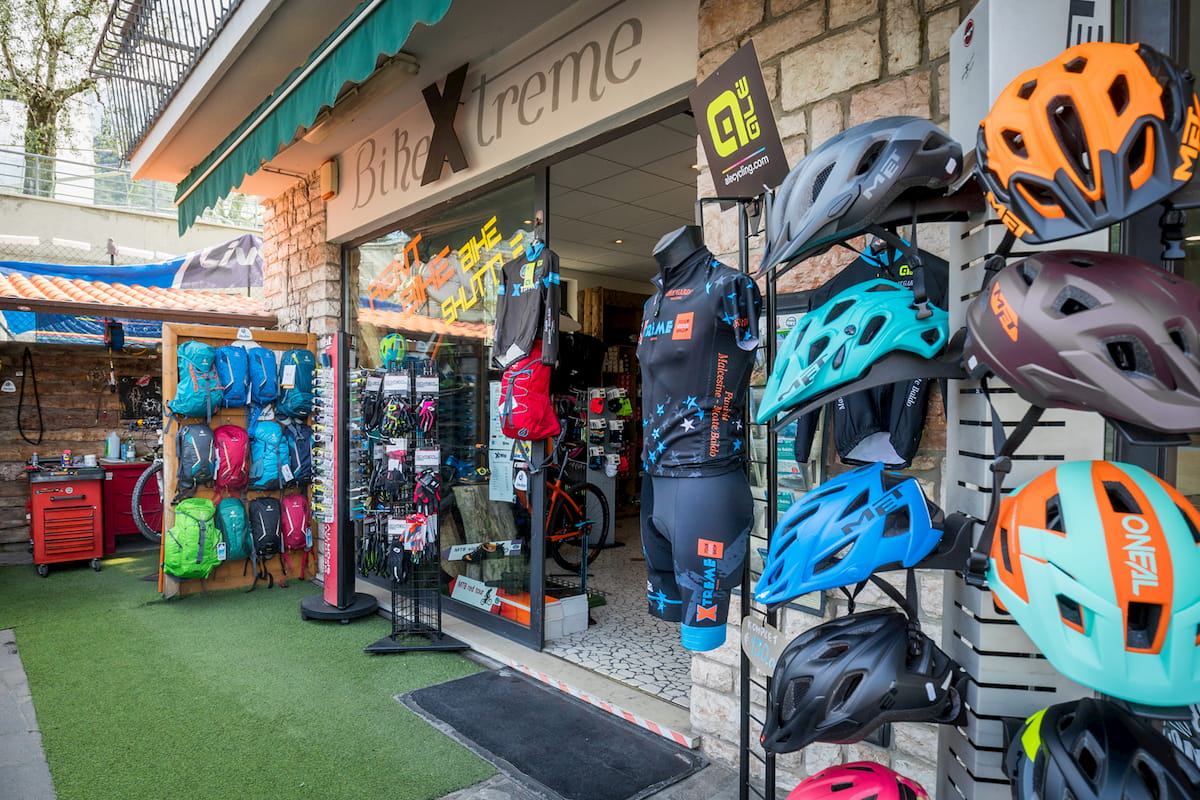 Xtreme Malcesine Bike Shop Lake Garda